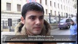 """Müstəqillikdən sonra:""""Xaricdən gələn həkimlərə üz tuturuq"""""""