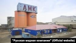 Производственный объект «Актюбинской медной компании».