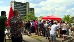 Protestë kundër ndërtimit të xhamisë në Prishtinë