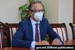 Claus Neukirch. șeful misiunii OSCE în Moldova
