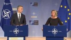 Jens Stoltenberg și Federica Mogherini despre cooperarea NATO-UE