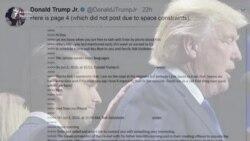 Trump-ın oğlu qalmaqalın mərkəzində