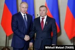 Владимир Путин и Аркадий Ротенберг
