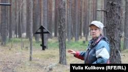 Людмила Королёва на Лесозаводском кладбище, Коми