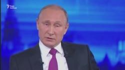 Путін радить Порошенку остерігатися «голубих... мундирів» у Європі (відео)
