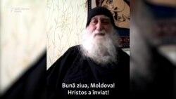 """Călugăr american, în """"chilia"""" de la Comrat"""