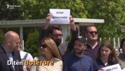 Dita Botërore e Shtypit - Gazetarët protestojnë