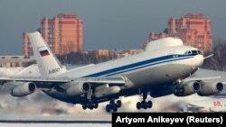 Ресейдің Ил-80 әскери ұшағы. Көрнекі сурет