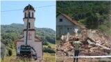 I rušenje pravoslavne crkve u dvorištu Fate Orlović rasplamsalo je govor mržnje na društvenim mrežama i internet portalima (Foto 5 juni 2021.)