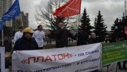 Дальнобойщики потребовали отставки Путина