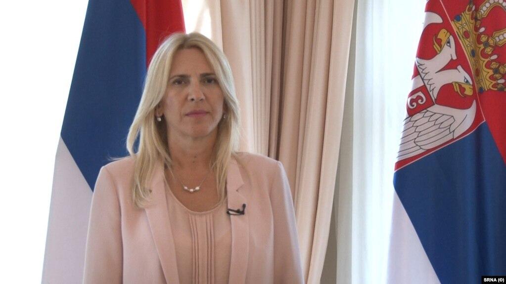 Željka Cvijanović, predsjednica bh. entiteta Republika Srpska, na fotografiji iz jula 2021.