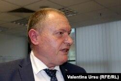 Aureliu Ciocoi, premier intermar în studioul Europei Libere, Chișinău, 13 mai 2021.