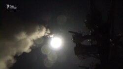 Бойові кораблі США завдали ракетного удару по авіабазі в Сирії (відео)