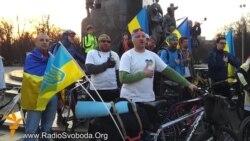 Учасники велопробігу Єдності дісталися Харкова