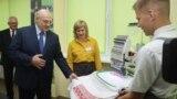 Аляксандар Лукашэнка на цырымоніі адкрыцьця школьнага году, Баранавічы, 1 верасьня 2020