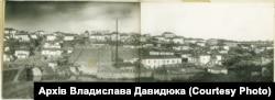 Один із районів Умані, де компактно до війни проживали євреї. Під час Другої світової війни нацисти тут створили гетто. Фото зроблено в 1939 році, із архіву Михайлини Коцюбинської. Світлину надав Владислав Давидюк