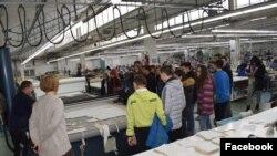 Илустрација, Посета на фабрики во рамки на проект за привлекување на млади во текстилната индустрија