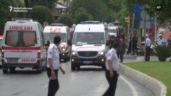 У Стамбулі вибухнув поліцейський автобус