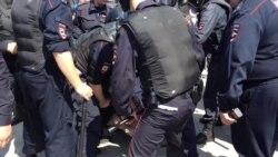 Разгон акции 12 июня во Владивостоке