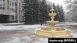 Снег в Керчи, 20 декабря 2020 год