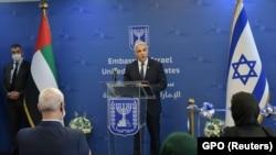 یائیر لَپید وزیر خارجۀ اسرائیل