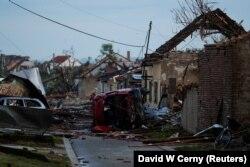 Moravska Nova Ves, după tornadă