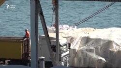 Hatalmas mennyiségű ammónium-nitrát egy ukrán kikötőben