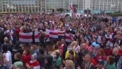 Якими були мітинги супротивників і прихильників Лукашенка – відео