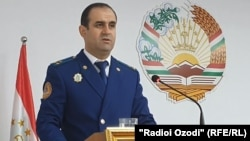 Фуркат Ходжазода, прокурор Согдийской области