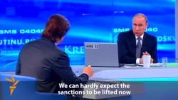 Putin Says Sanctions On Russia Nothing To Do With Ukraine