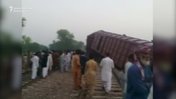 Train Collision In Pakistan Kills Six, Injures Dozens