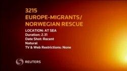 Migrantët në bregun norvegjez