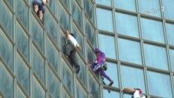 تازهترین صعود «مرد عنکبوتی» فرانسه