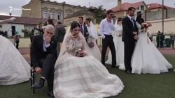 Большая дагестанская свадьба в Дербенте – претендент на мировые рекорды