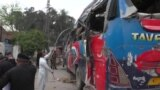 Pakistani Bus Attack Kills Civil Service Commuters In Peshawar