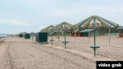 Пляж у Скадовську, 29 квітня 2021 року