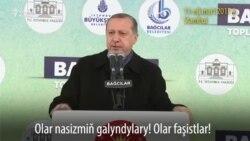 Erdogan ýene Ýewropa bilen dawalaşýar