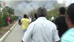 В Азербайджані дві людини загинули внаслідок вибуху на оборонному заводі (відео)