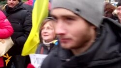 Люди на Майдане