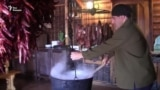 У абхазского очага