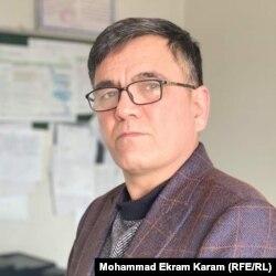حمید عظیمی، سرپرست دفتر ساحوی کمیسیون حقوق بشر در ولایت فاریاب