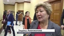 Қазақ-қырғыз шекарасындағы ахуал жайлы депутаттар пікірі