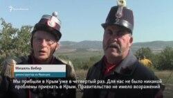 Мишель Вибер приехал из Франции на реконструкцию крымского сражения (видео)