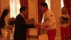 Универсиадада җиңгән Казан спортчылары өчләтә бүләкләнә