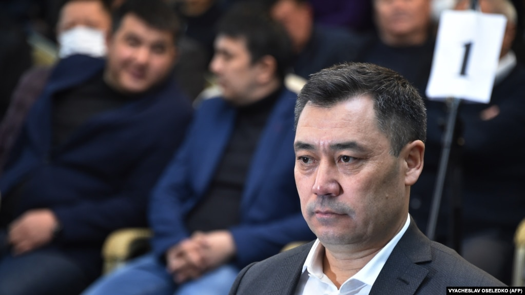 Содир Жапаров, нахуствазири Қирғизистон.