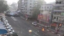 Protesta të përgjakshme në Mianmar