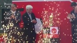 Главный трофей чемпионата мира по футболу доставлен в Сочи