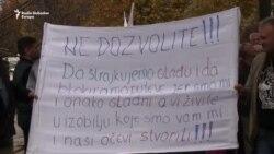 Radnici Željezare Zenica pred Vladom FBiH