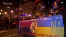 Ukrainian Nationalists Honor Controversial WWII-Era Leader