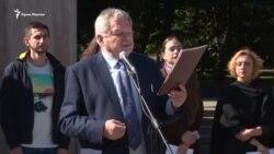 Lvivde Neşirciler Forumında Mıkola Semenanıñ mektübini oqudılar (video)